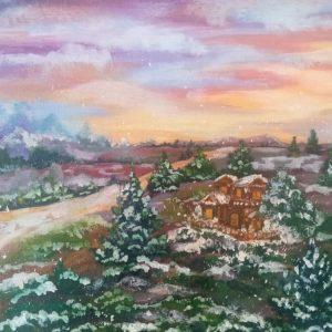Картина «Первый снег»