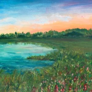 Картина «Летний закат»